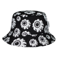 ALL-OVER KEEP WATCH BUCKET HAT (BLACK/MSS203226BLK)
