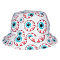ALL-OVER KEEP WATCH BUCKET HAT (WHITE/MSS203226WHT)