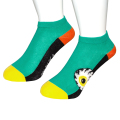 K.W CRAZY COLOR  SNEAKER SOCKS (GREEN/MSS203301GRN)