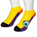 K.W CRAZY COLOR  SNEAKER SOCKS (YELLOW/MSS203301YLW)