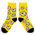 K.W CREW SOCKS (YELLOW/MSS203304YLW)