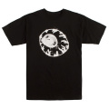 WRUNG OUT KEEP WATCH TEE (BLACK/SM171107BLK)