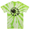 WRUNG OUT KEEP WATCH TEE (LIME TIE DYE/SM171107TD)