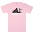 CYRILLIC REAPER TEE (PINK/SM191001PNK)