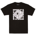SHACKLED KEEP WATCH TEE (BLACK/SM191005BLK)