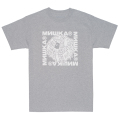 SHACKLED KEEP WATCH TEE (H.GRAY/SM191005GRY)
