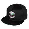 CYRILLIC BURSTER CAP (BLACK/SM192002)