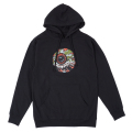 LAMOUR FLYING TIGER KEEP WATCH PULLOVER HOODIE (BLACK/SP181303POBLK)