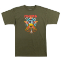 LAMOUR BROKEN DUCK DIVISION TEE (OLIVE/SP181306OLV)