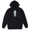 LAMOUR THE NEW FLESH PULLOVER HOODIE (BLACK/SP181310POBLK)