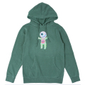 LAMOUR THE NEW FLESH PULLOVER HOODIE (ALPINE GREEN/SP181310POGRN)