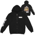 OSAKA KEEP WATCH ZIP HOODIE (BLACK/SP191001ZP)
