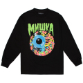 LAMOUR CHAOS KEEP WATCH L/S TEE (BLACK/SP191002LS)