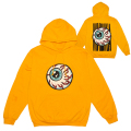 LAMOUR CARTOON KEEP WATCH PULLOVER HOODIE (YELLOW/SP191004PO)