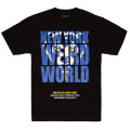 D.A NY WEIRD WORLD ADDER TEE (BLACK/SP191006)
