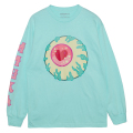 MISHKA x TARA MCPHERSON: KEEP WATCH LS TEE (TEAL/TARA13)