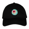 MISHKA x TARA MCPHERSON: KEEP WATCH DAD CAP (BLACK/TARA14)