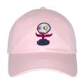 MISHKA x TARA MCPHERSON: FLOWER SKULL DAD CAP (PINK/TARA7)