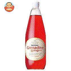 サントリー グレナデンシロップ780ml瓶×12本入