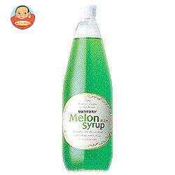 サントリー メロンシロップ780ml瓶×12本入