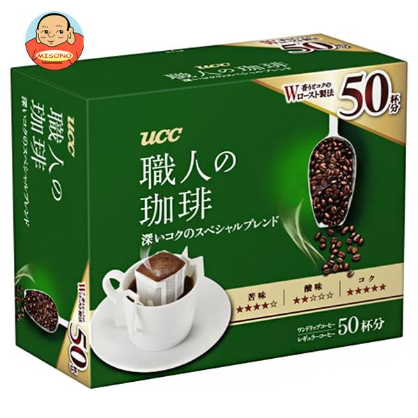 UCC 職人の珈琲 ドリップコーヒー 深いコクのスペシャルブレンド (7g×50P)×6箱入