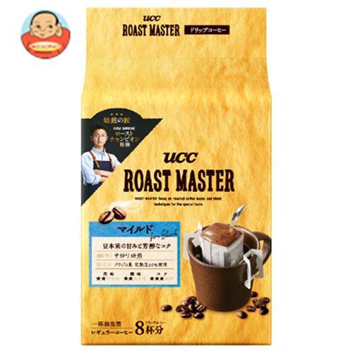 UCC ROAST MASTER (ローストマスター) ドリップコーヒー マイルド for BLACK (8g×8P)×12(6×2)袋入