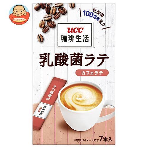 UCC 珈琲生活 乳酸菌ラテ カフェラテ (10g×7P)×12箱入