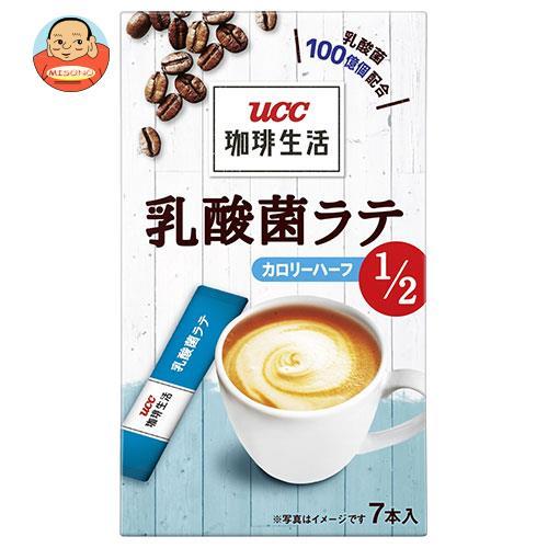 UCC 珈琲生活 乳酸菌ラテ カロリーハーフ (6g×7P)×12箱入
