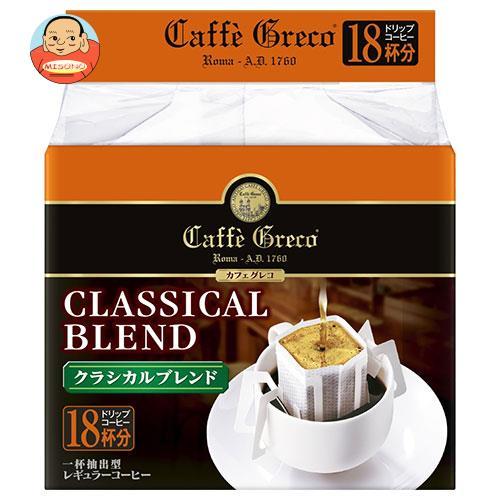 UCC カフェグレコ ドリップコーヒー クラシカルブレンド (7g×18P)×12箱入