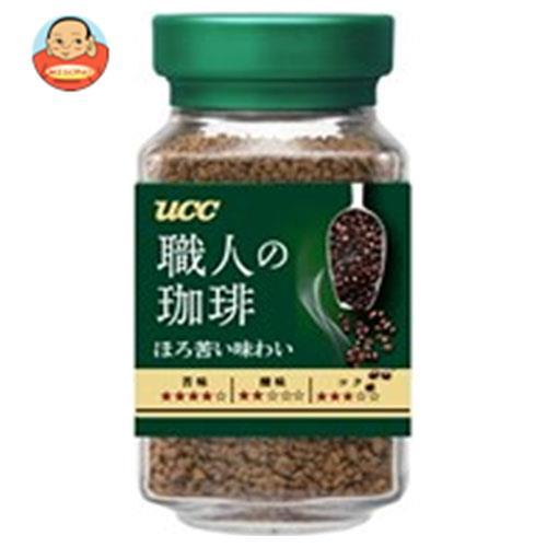 UCC 職人の珈琲 ほろ苦い味わい 90g瓶×12本入