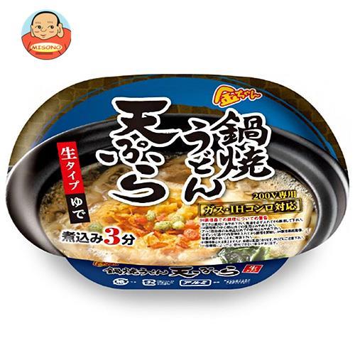 徳島製粉 金ちゃん 鍋焼うどん 天ぷら 217g×12個入