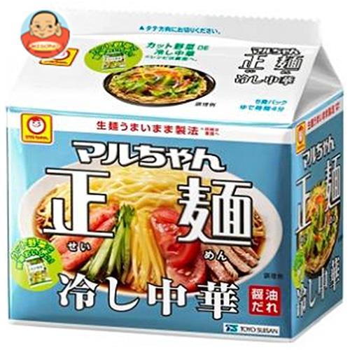 東洋水産 マルちゃん正麺 冷し中華 5食パック (118g×5食)×6個入