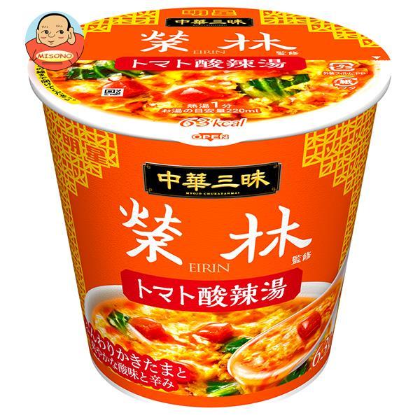 明星食品 中華三昧 赤坂榮林 麺なしトマト酸辣湯 18g×6個入