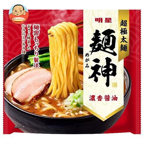 明星食品 麺神 濃香醤油 120g×12個入