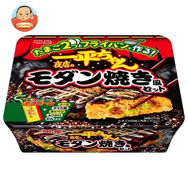 明星食品 一平ちゃん 夜店のモダン焼き風セット 141g×12個入