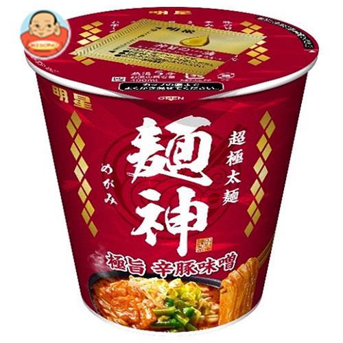明星食品 麺神カップ 極旨辛豚味噌 101g×12個入