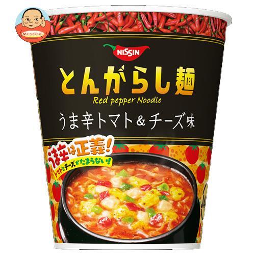 日清食品 日清のとんがらし麺 うま辛トマト&チーズ味 66g×12個入