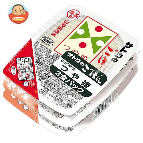 サトウ食品 サトウのごはん 山形県産つや姫 3食パック 200g×3食×12個入