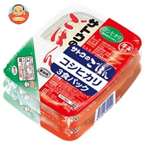 サトウ食品 サトウのごはん コシヒカリ 3食パック (200g×3食)×12個入