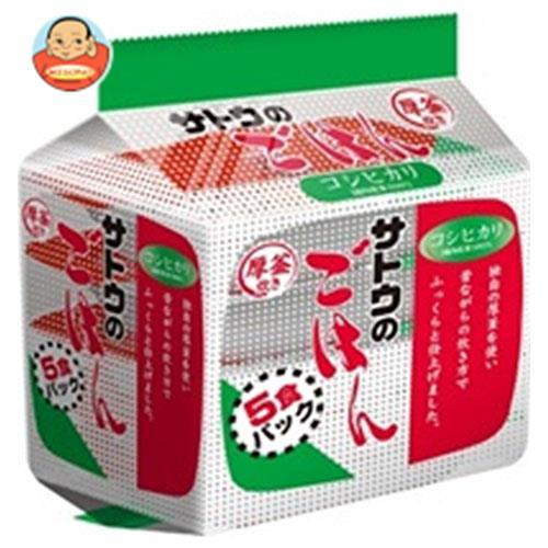 サトウ食品 サトウのごはん コシヒカリ 5食パック (200g×5食)×8個入