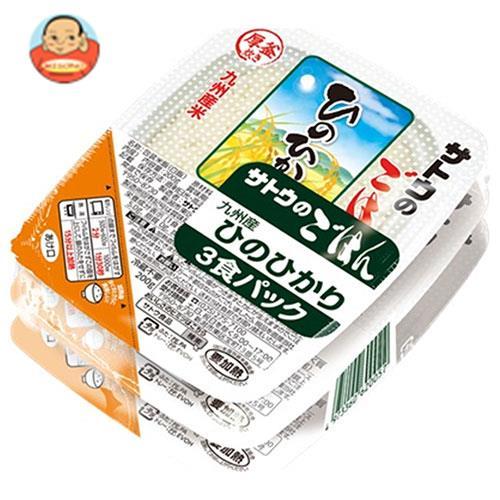 サトウ食品 サトウのごはん 九州産ひのひかり 3食パック (200g×3食)×12個入