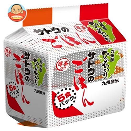 サトウ食品 サトウのごはん 九州産ひのひかり 5食パック (200g×5食)×8個入