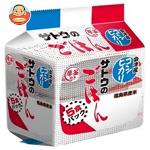 サトウ食品 サトウのごはん 福島県会津産コシヒカリ 5食パック (200g×5食)×8個入