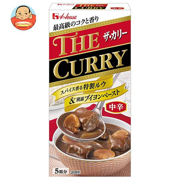 ハウス食品 THE CURRY ザ カリー 中辛 140g×10個入