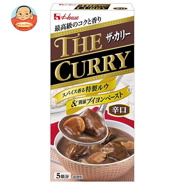 ハウス食品 THE CURRY ザ カリー 辛口 140g×10個入