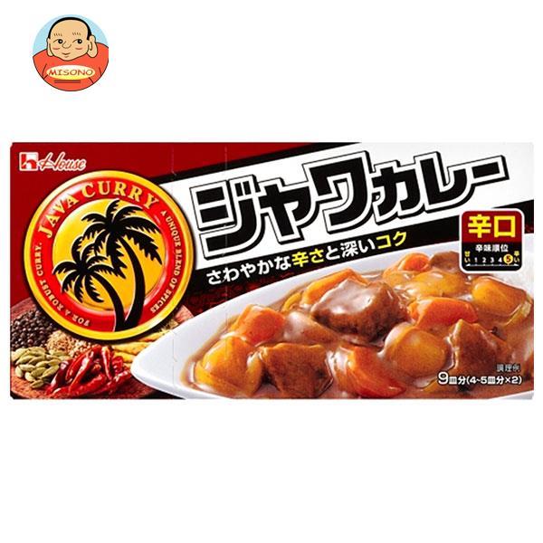 ハウス食品 ジャワカレー 辛口 185g×10個入