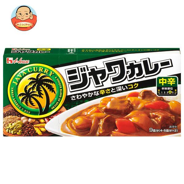 ハウス食品 ジャワカレー 中辛 104g×10個入