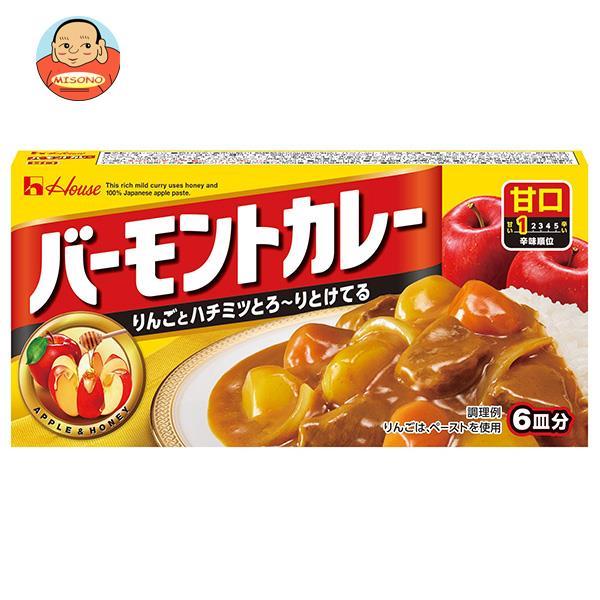 ハウス食品 バーモントカレー 甘口 115g×10個入