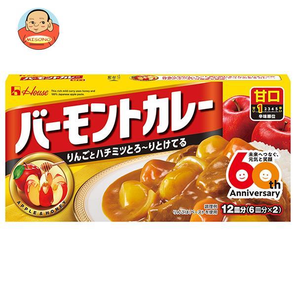 ハウス食品 バーモントカレー 甘口 230g×10個入