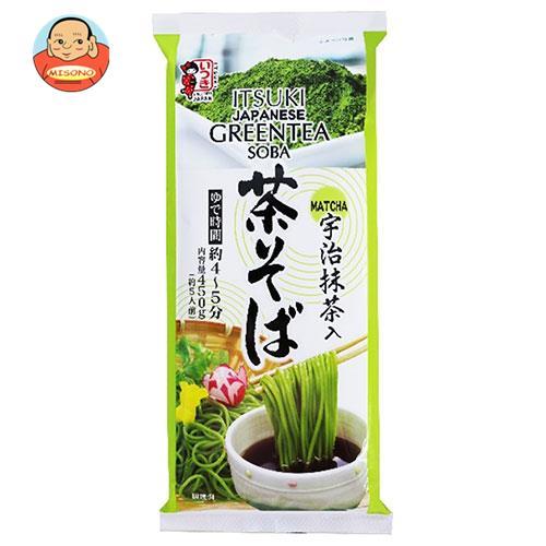 五木食品 茶そば450g×20袋入